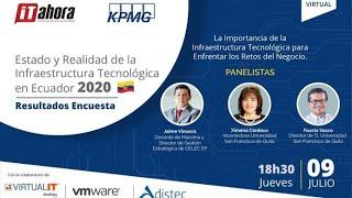 Estado y Realidad de la Infraestructura Tecnológica en Ecuador 2020