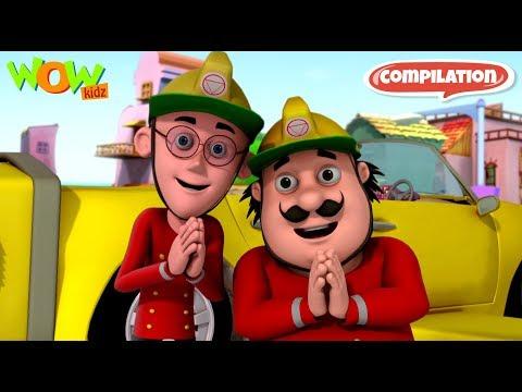 Motu Patlu Funny Videos collection #35 | As seen on Nickelodeon thumbnail