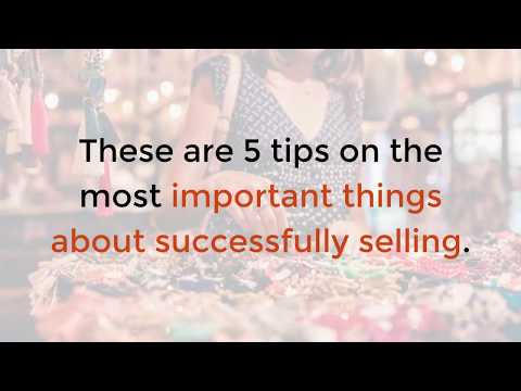 How to Sell: These Are the 5 Most Important Things to Do | Content Krush