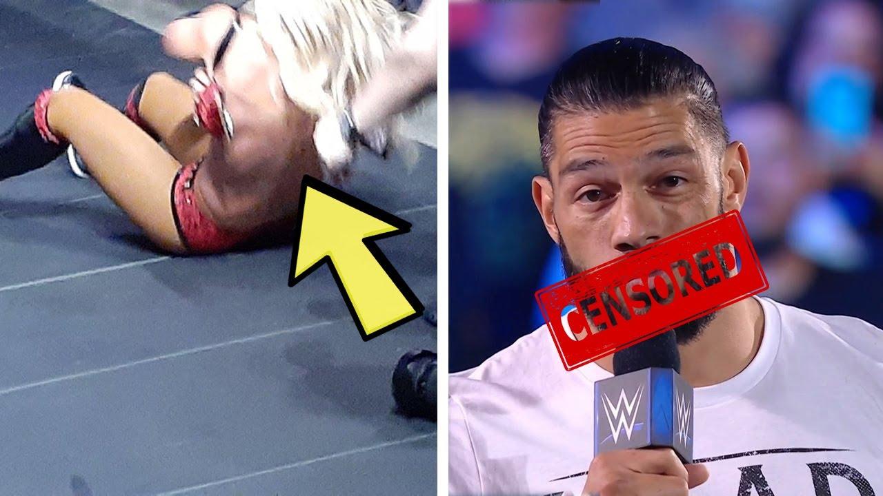 Carmella Wardrobe Malfunction...Rude Joke Censored by WWE...WWE Superstar Injured...Wrestling News