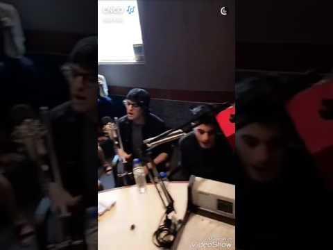 Cnco en radio Disney.... Y visitando la perla en guayaquil Ecuador