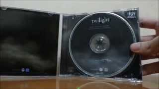 Twilight: Original Motion Picture Soundtrack (Unboxing)