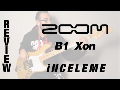 Zoom B1 Xon Bass Processor İncelemesi - Review (Eng. sub.)