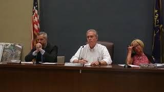 Laporte City Council's response to my
