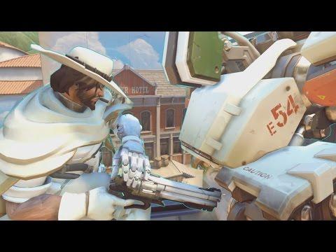 Overwatch - McCream Learns Bastion