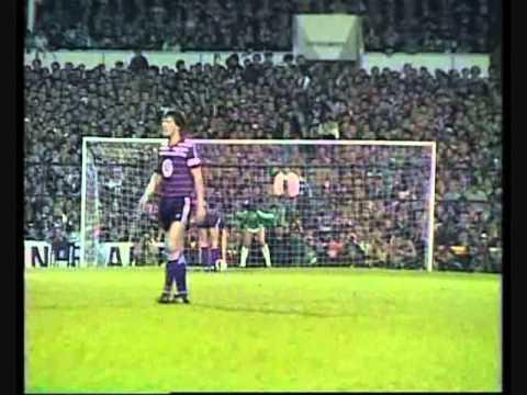 UEFA CUP Final 1984. Tottenham Hotspur FC - RSC Anderlecht 1-1 (1-1) penalties 4-3
