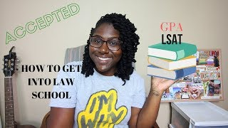 How to Get Into Law School | How to get accepted | Law School Vlog Channel | 1L