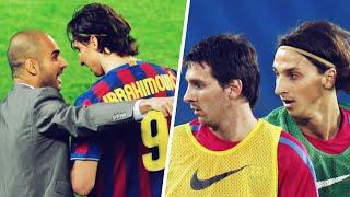Comment Lionel Messi a plomb la relation entre Zlatan Ibrahimovic et Pep Guardiola  Oh My Goal