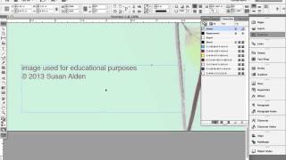 easy InDesign tutorial - folded greeting card - part II