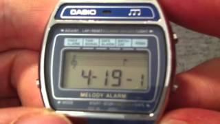 Casio Melody Alarm Vintage Digital Watch