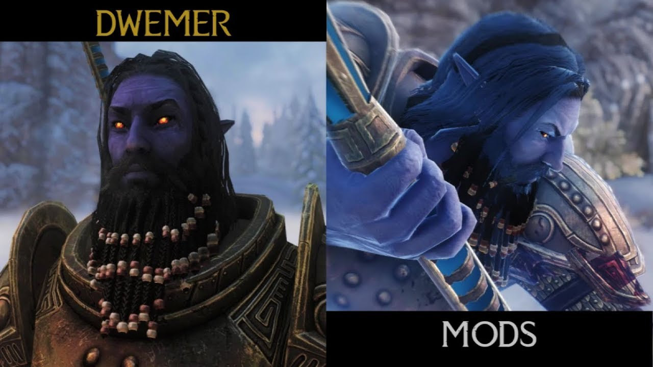 The Timelost Dwemer - A Deep Elf Race SE at Skyrim Special Edition