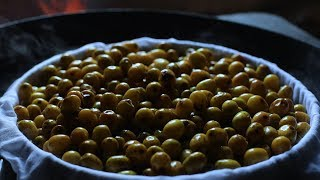 The wild jujube is ripe, it's time to make some wild jujube cake老屋后的枣子熟了,正好做笼酸枣糕解解馋|Liziqi channel