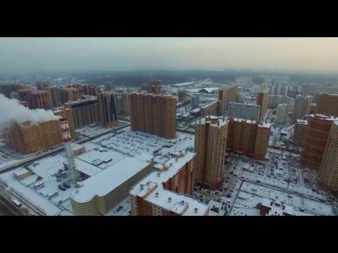DJI Phantom 3 Pro 4k Russia Moscow First Fly