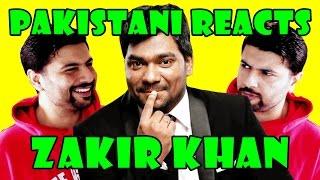 Pakistani Reacts to Indian Comedian | Zakir Khan