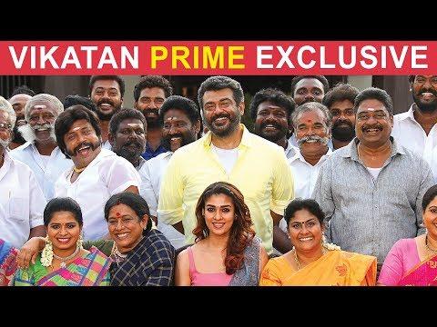 Ajith Viswasam's Story & Vivegam Review Blacklash #Vikatan Exclusive