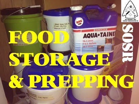 Food Storage & Prepping