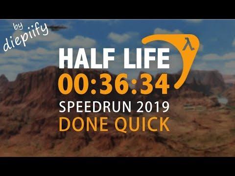 HALF-LIFE IN 36:34 SPEEDRUN (By Diepiify) 2019
