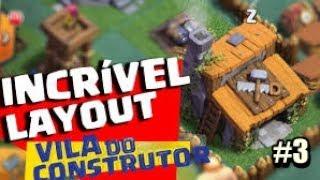 INCRÍVEL LAYOUT VILA DO CONSTRUTOR NÍVEL 3 CLASH OF CLANS COMEÇANDO UMA NOVA VILA #3