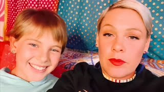 Singer Pink & daughter Willow Q&A
