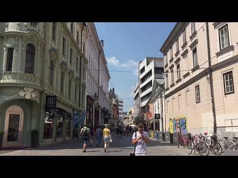 Take a walk in Ljubljana Center