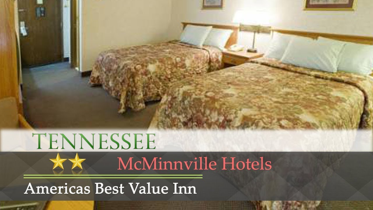 Americas Best Value Inn Mcminnville Hotels Tennessee