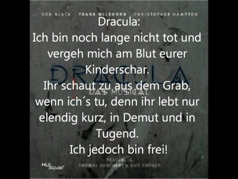 "Musical  Dracula: ""Zu Ende""  Karaoke & Lyrics"