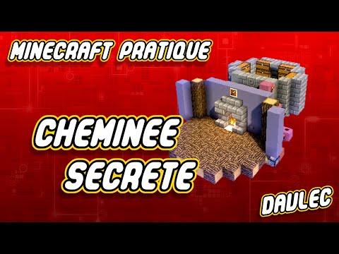 Minecraft Pratique: Cheminée Secrète.