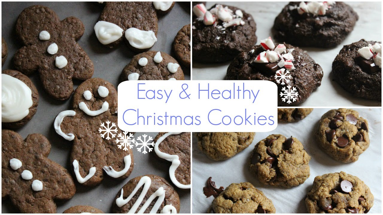 Easy healthy christmas cookies recipes