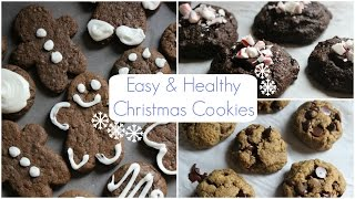 Easy & Healthy Christmas Cookies | Vegan, Gluten Free, & Delicious Thumbnail