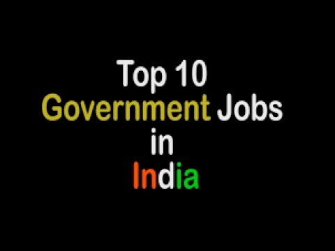 Top 10 government job in engineering