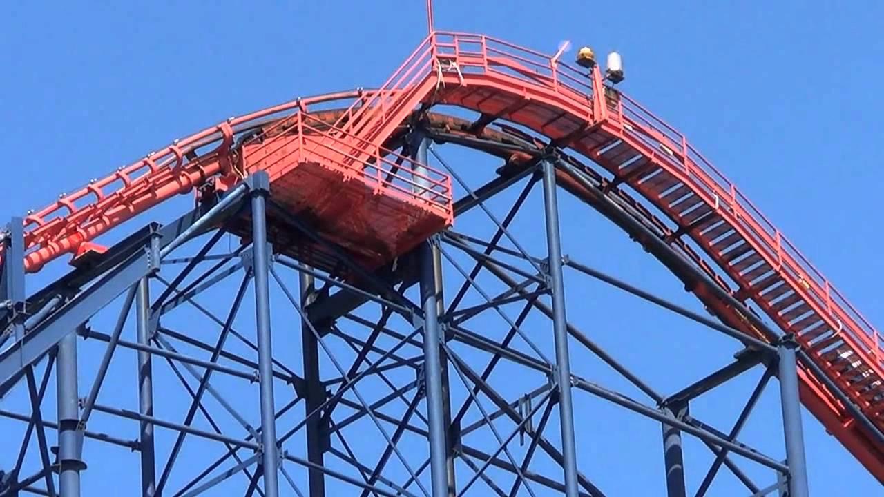 "Steel Roller Coaster "" The Big One "" Blackpool Pleasure Beach - YouTube"