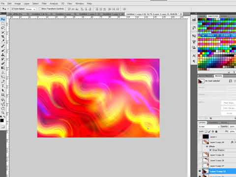 Create Smooth Colorful Backgrounds Photoshop Tutorial