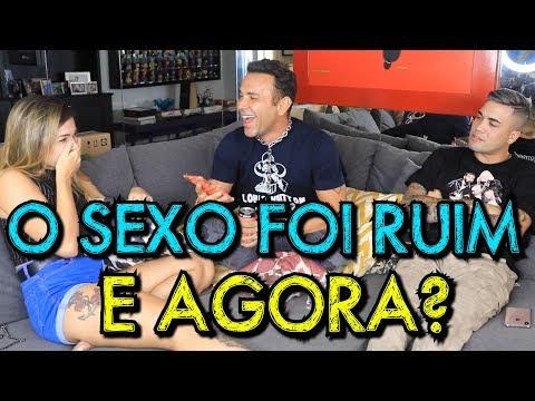 O SEXO FOI RUIM E AGORA?  COM MC BRISOLA E LETICIA ESCARIÃO  MatheusMazzafera