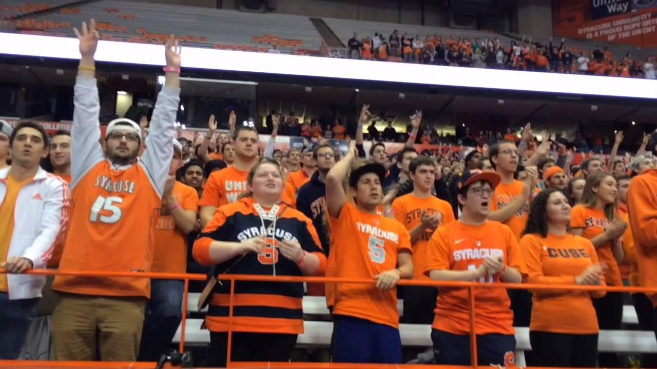Syracuse University Basketball Scores First Basket Youtube