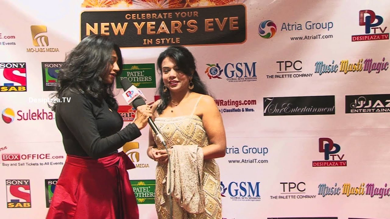 "Kavitha speaking to Media at ""Dil Dhadakne Do"", New Years EVE"""