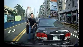 Taiwan  rogue bad car driving Blocking vehicle beating ~(All records set)