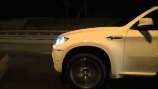Mercedes-Benz C63 MHP S2CMR vs BMW X6M PPP stage 4 730 hp part 1.