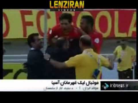 Iran and competitors from Uzbakistan , UAE and Qatar plays for AFC