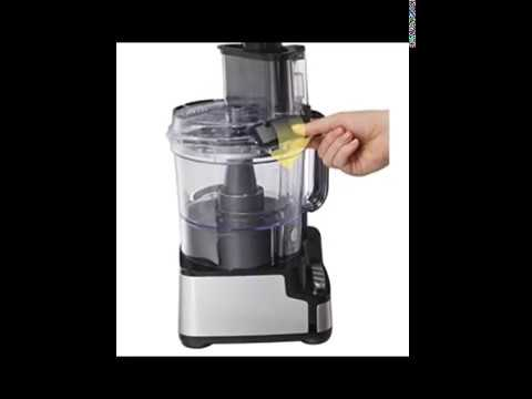 Hamilton Beach 12 Cup Stack And Snap Food Processor 70725a Youtube