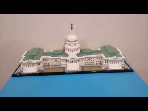 Lego Architecture United States Capitol Building Review