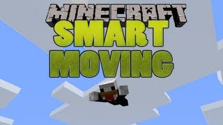 MINECRAFT MOD: SMART MOVING REVIEW