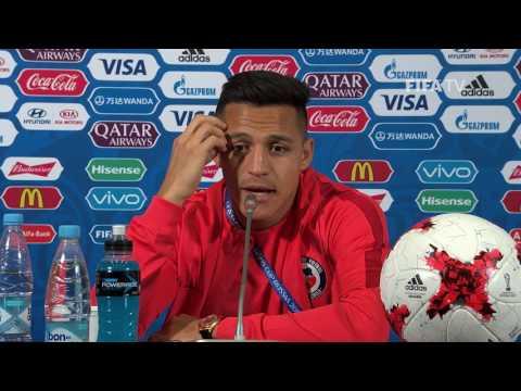 GER v. CHI - Alexis SANCHEZ - Chile Post-Match Press Conference