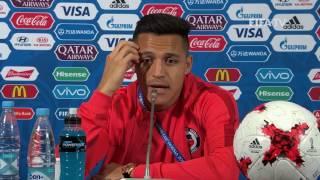 GER v. CHI - Alexis SANCHEZ - Chile Post-Match Press Conference thumbnail