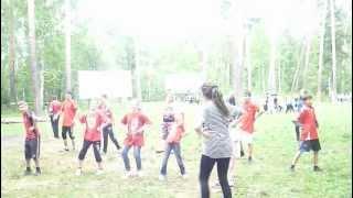 Урок танцев на Олимпиаде для детей интердома и детдома №1 г.Иваново