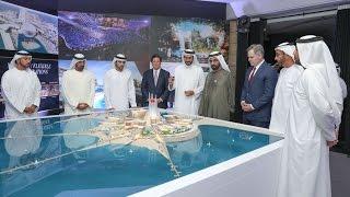 محمد بن راشد يطلق مشروع جزيرة متكاملة للخدمات السياحية والترفيهية على شاطىء جميرا