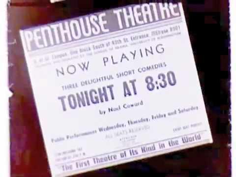 University of Washington Penthouse Theatre, ca. 1956