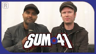 We caught up with Cone and Dave from Sum 41 to chat about their rec...