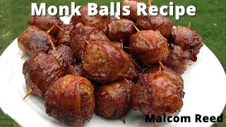 Moink Balls | Bacon Wrapped Meatballs with Malcom Reed HowToBBQRight