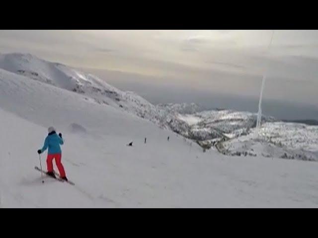 Watch: Israeli interception of Syrian missile caught on skier's camera
