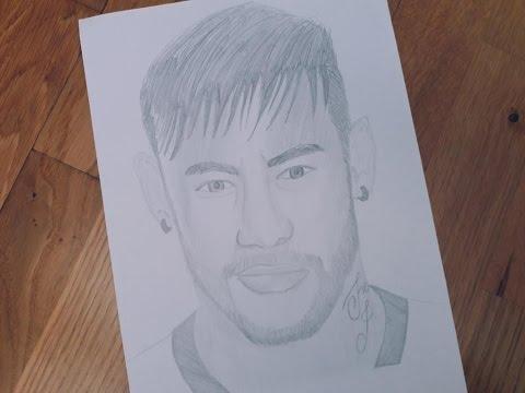 neymar-drawing